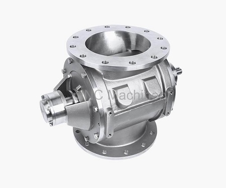 Basic Application of fast clean rotary valve