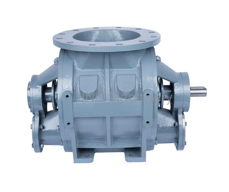 blow-thru rotary valve