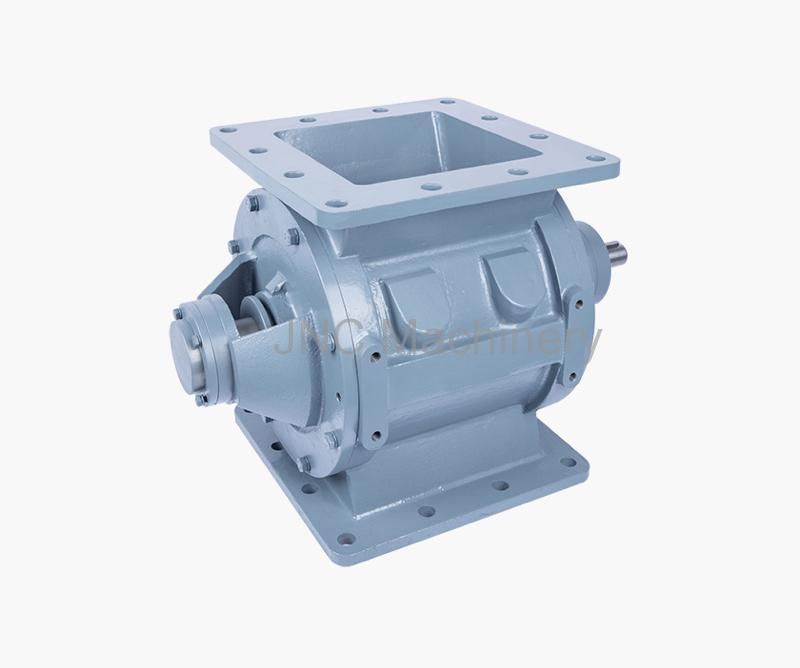 Dust control rotary valve